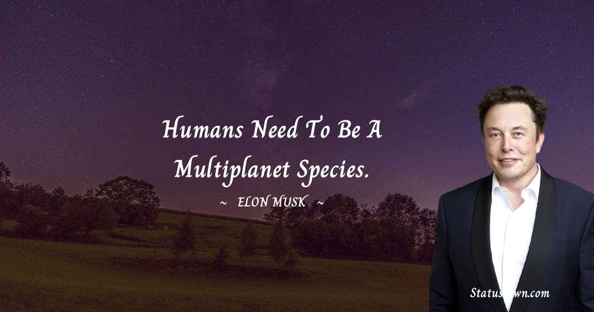 Elon Musk Status