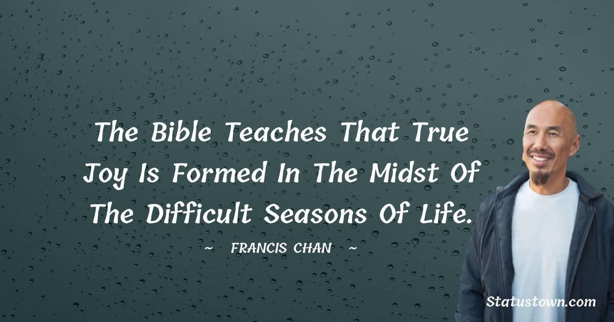 Francis Chan Status