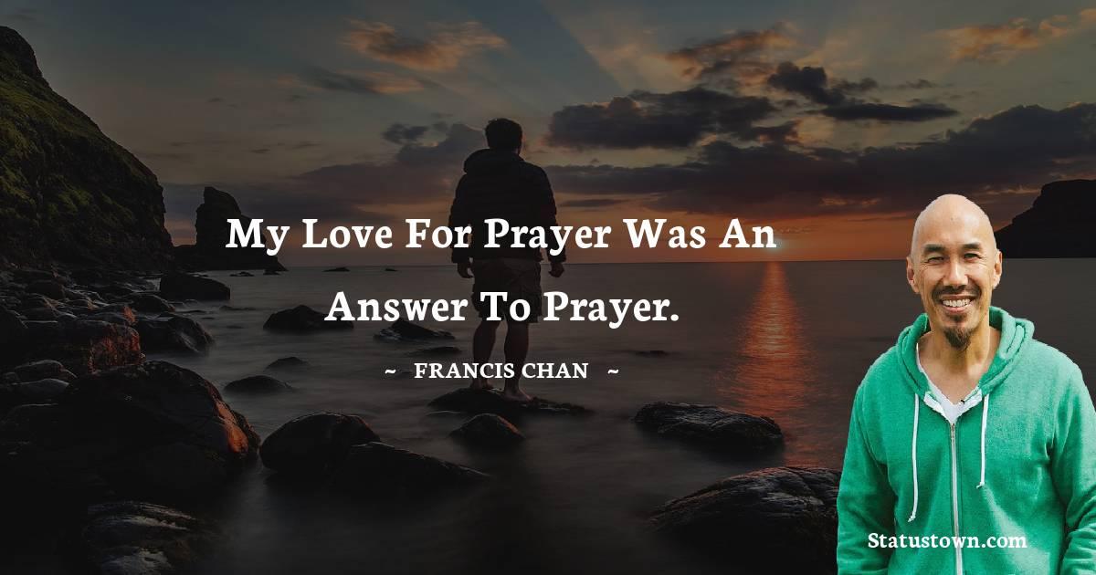 Francis Chan Unique Quotes