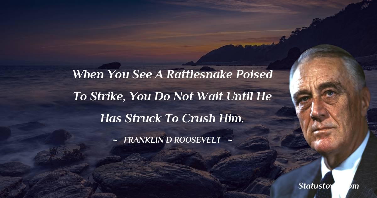 Franklin D. Roosevelt Motivational Quotes