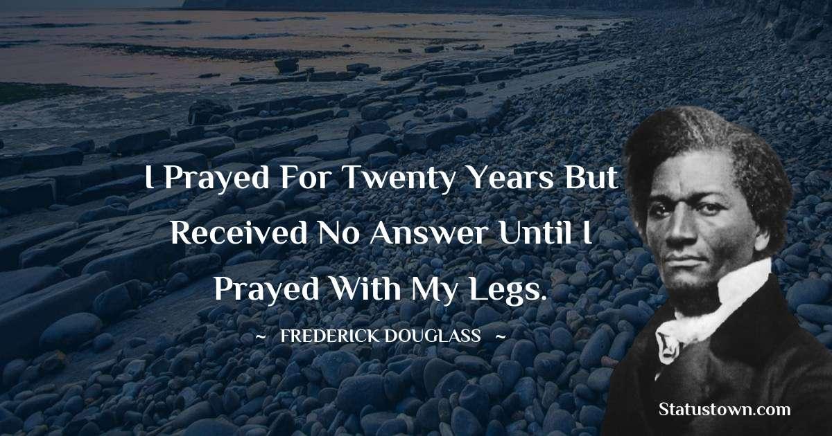 Frederick Douglass Status