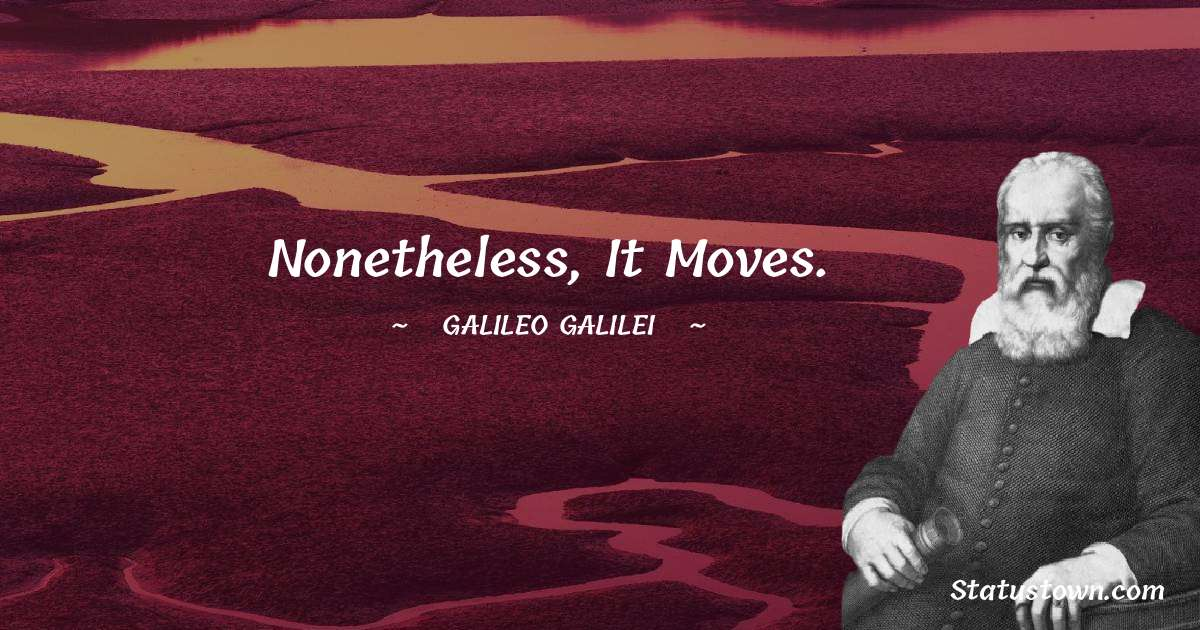Galileo Galilei Quotes images