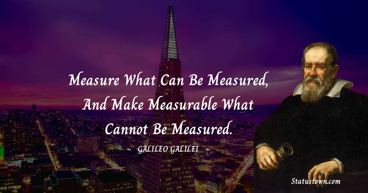 Galileo Galilei Positive Thoughts