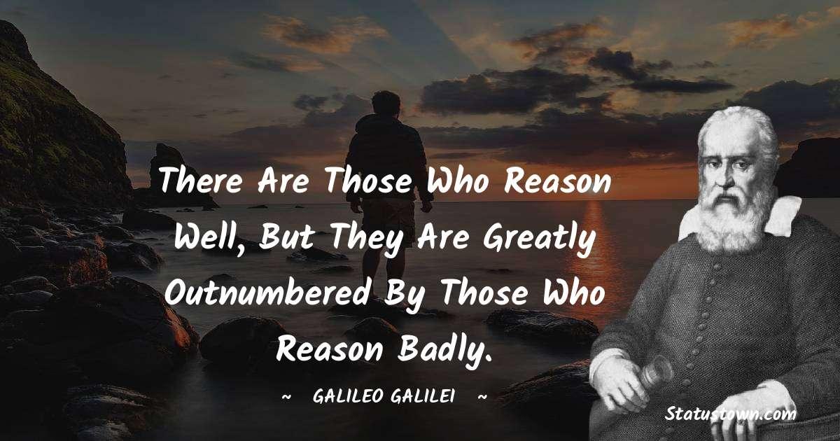 Galileo Galilei Short Quotes