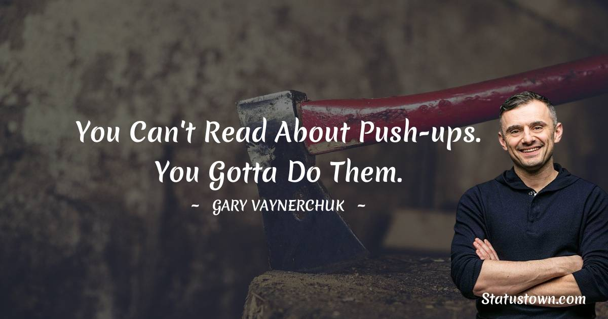 Gary Vaynerchuk Thoughts