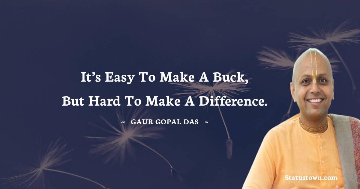 Gaur Gopal Das Unique Quotes