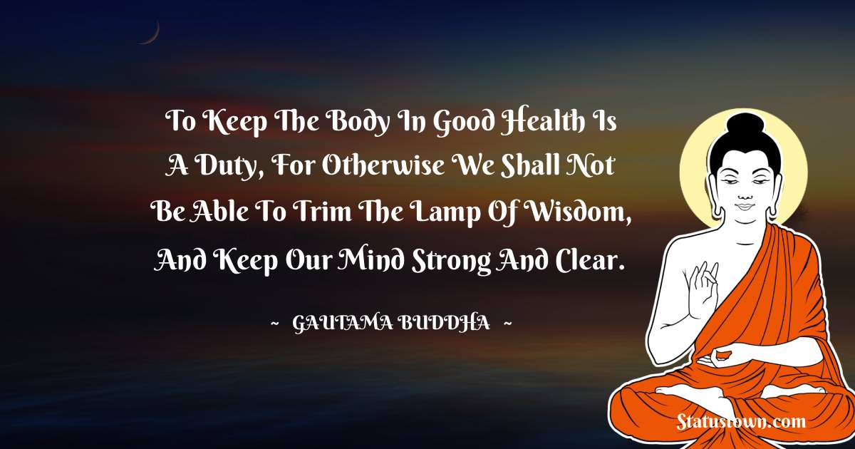 Lord Gautam Buddha  Quotes for Students