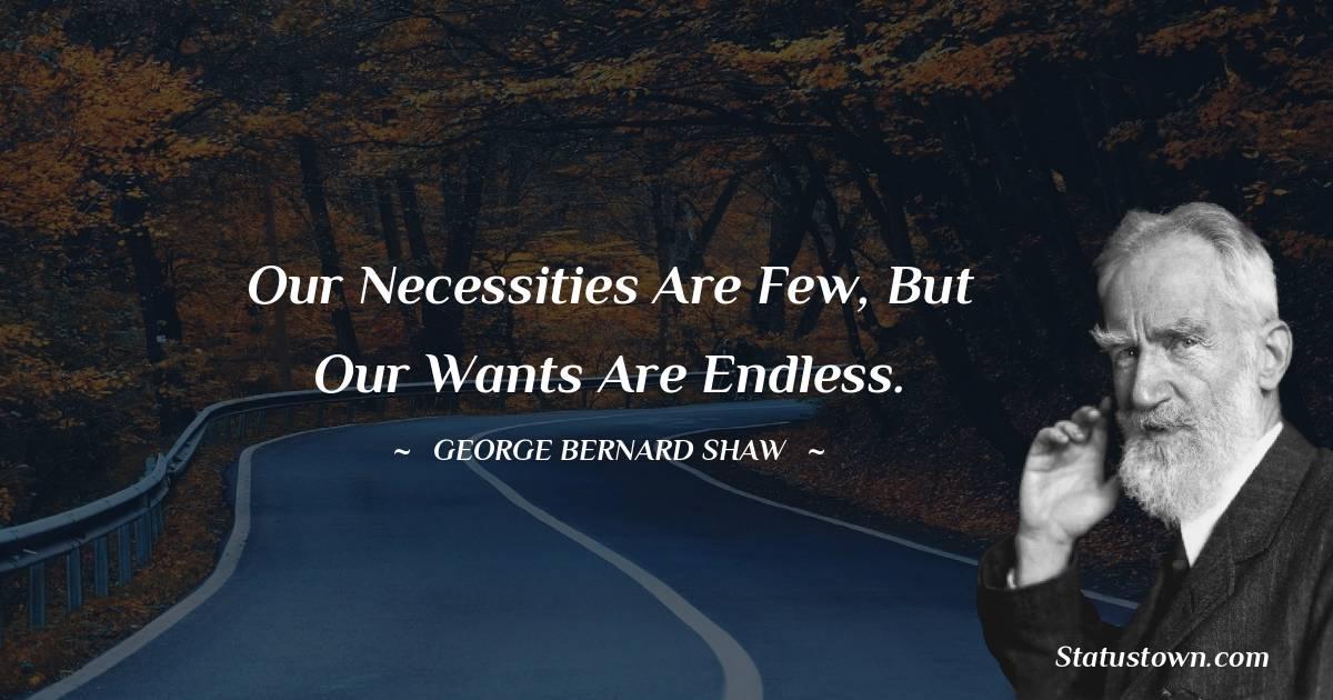 George Bernard Shaw Inspirational Quotes
