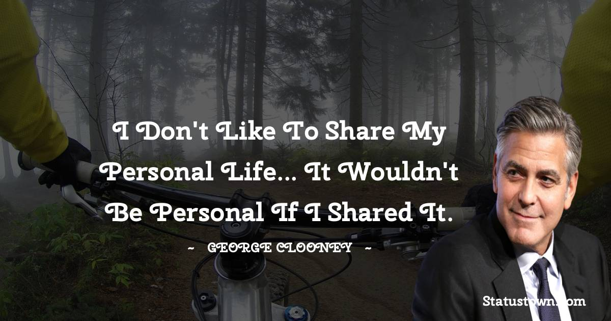 George Clooney Quotes images