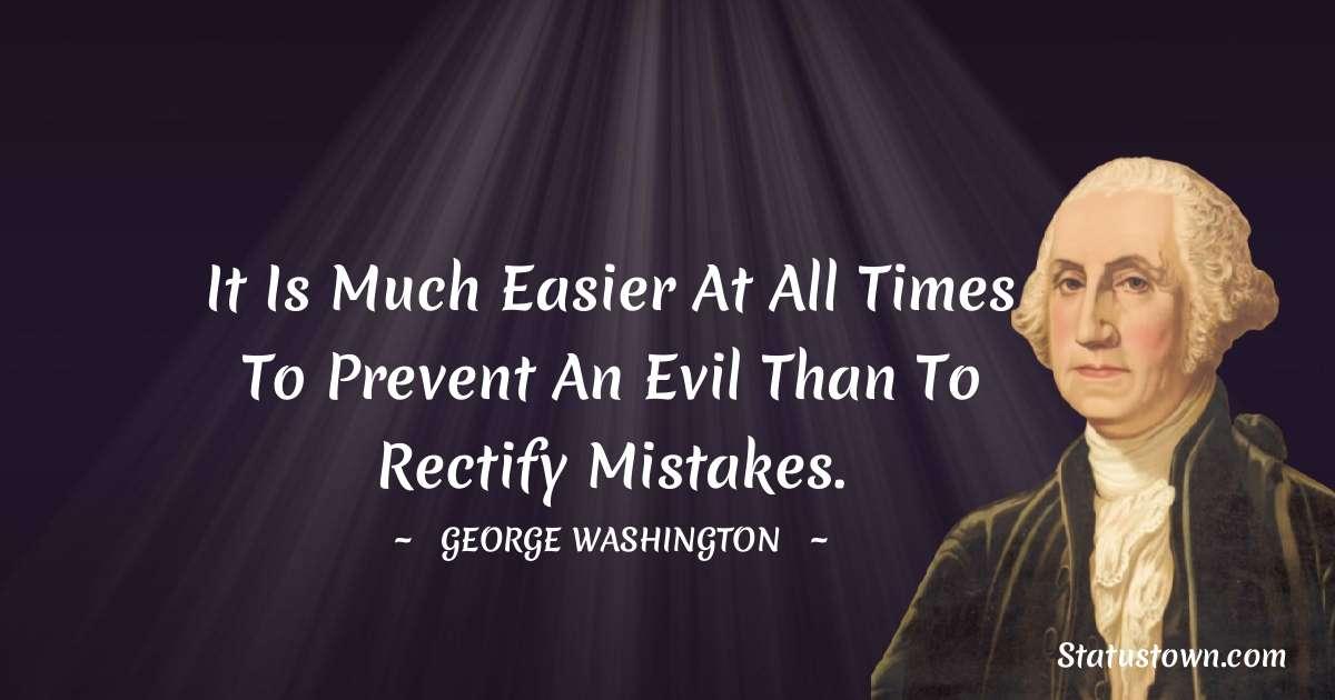 George Washington Status