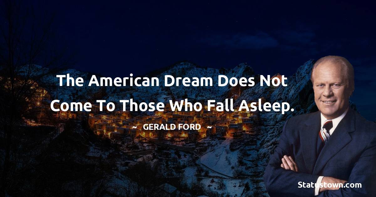 Gerald Ford Thoughts
