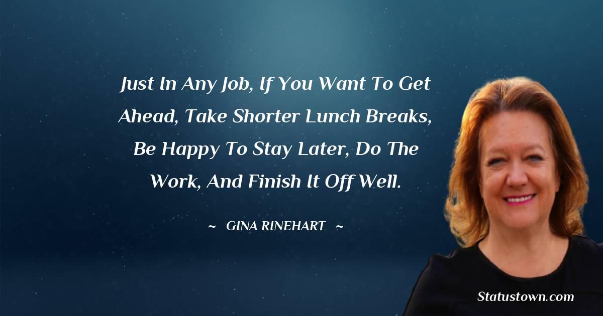 Gina Rinehart Motivational Quotes