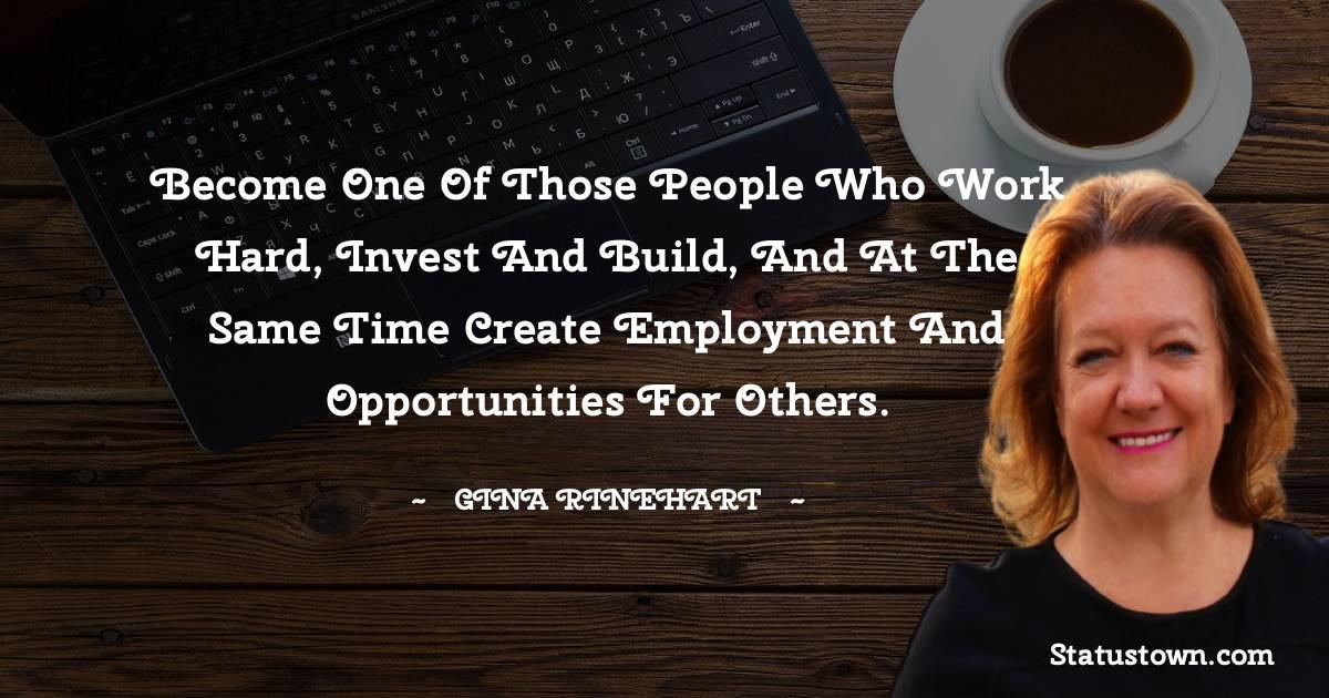 Gina Rinehart Quotes