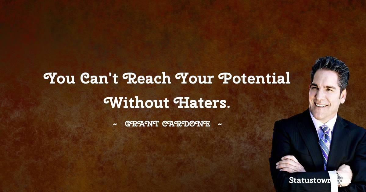 Grant Cardone Motivational Quotes