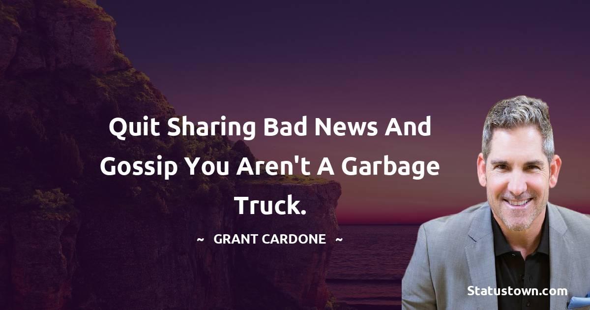 Grant Cardone Positive Quotes
