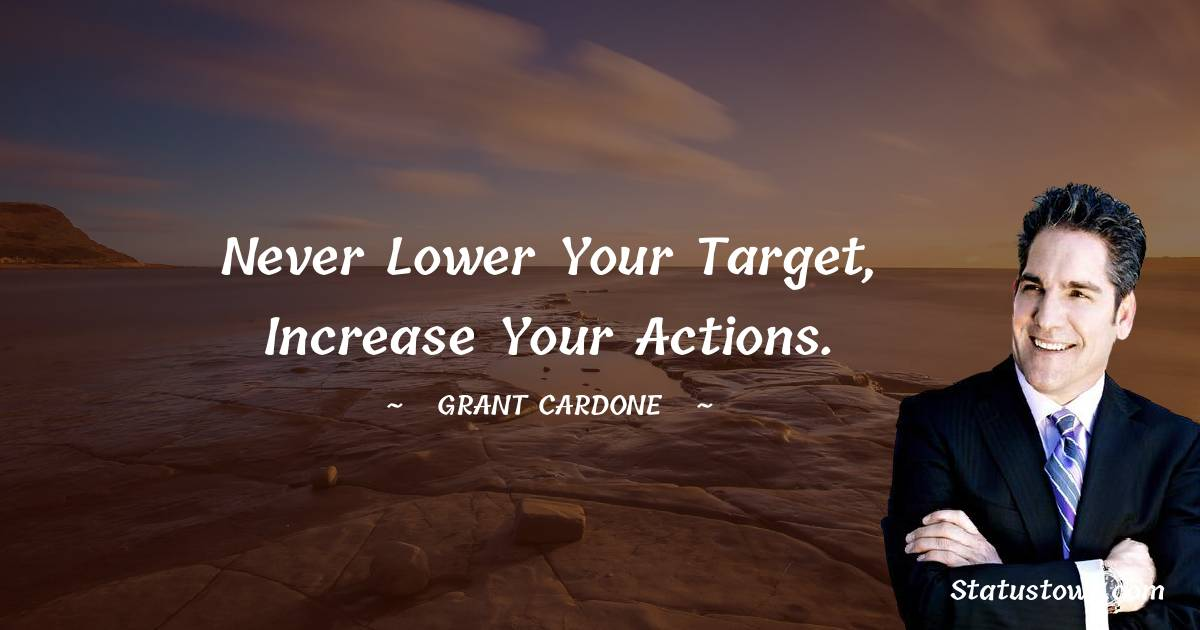 Grant Cardone Thoughts