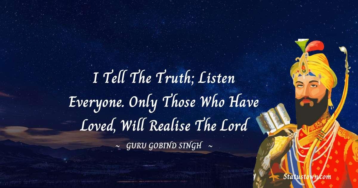 Guru Gobind Singh Motivational Quotes