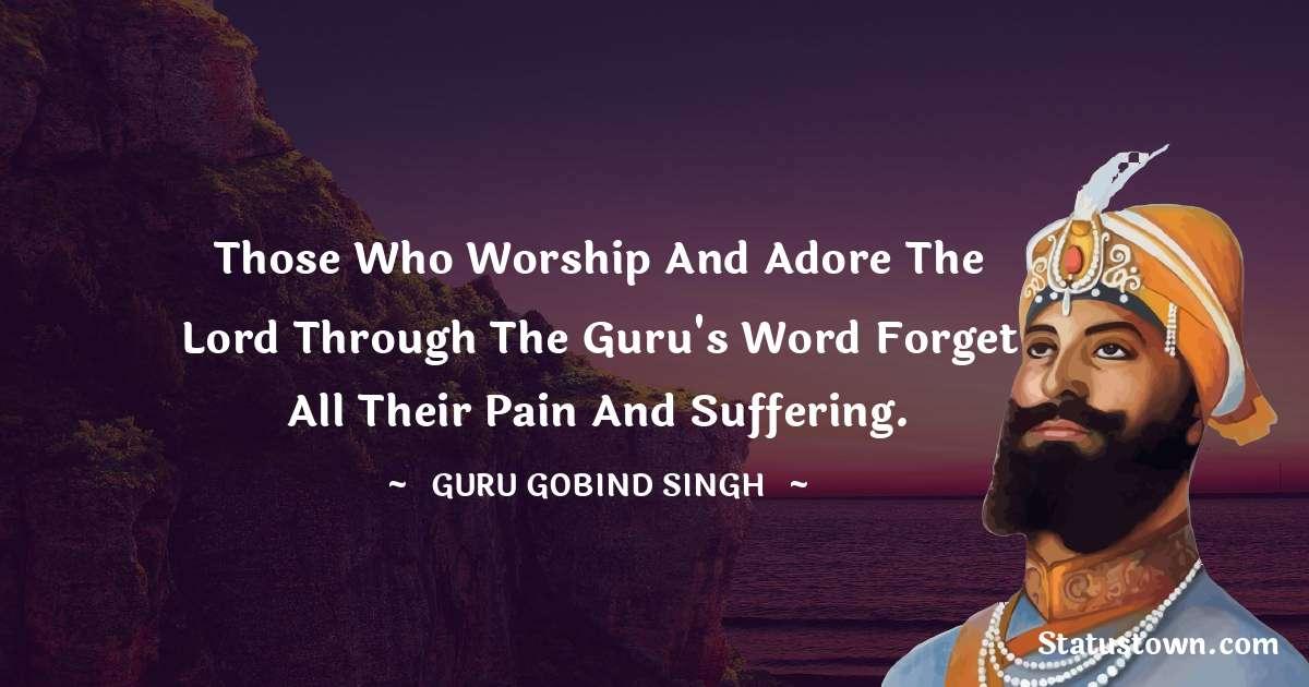 Guru Gobind Singh Positive Quotes