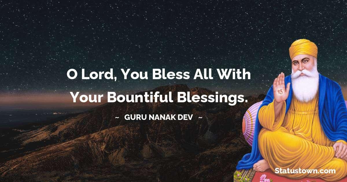 Guru Nanak Dev  Positive Thoughts