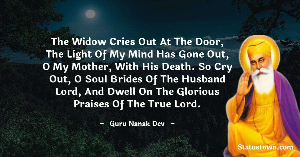 Guru Nanak Dev  Inspirational Quotes