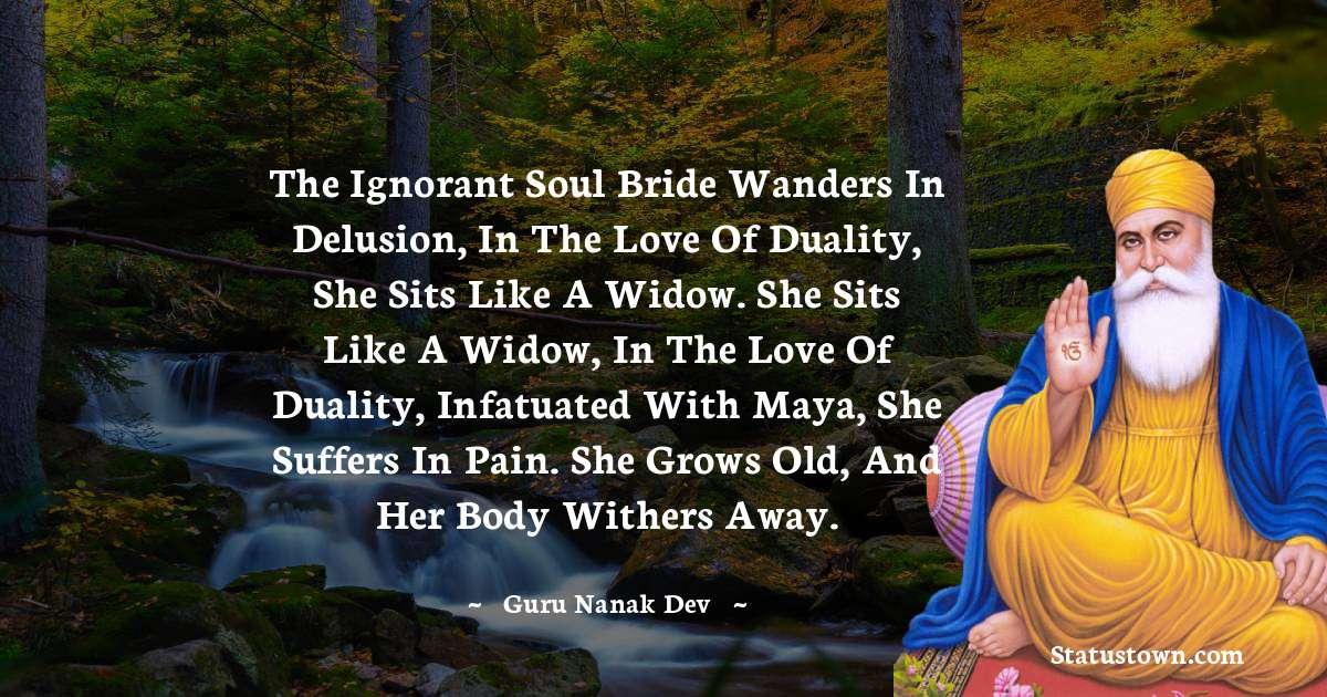 Guru Nanak Dev  Thoughts