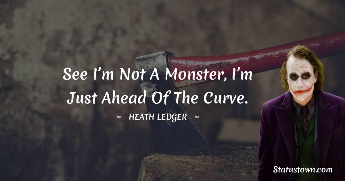 Heath Ledger Status