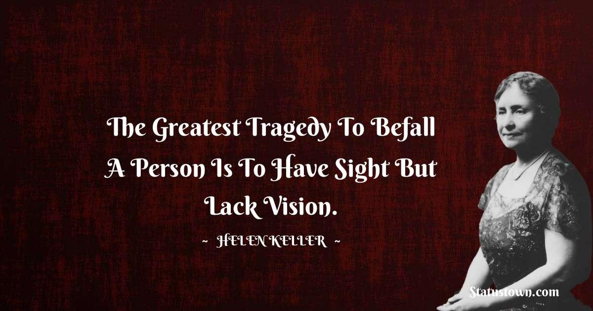 Helen Keller Positive Thoughts