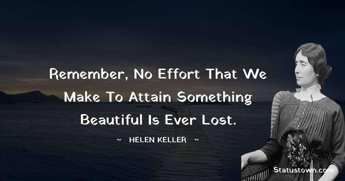 Helen Keller Short Quotes