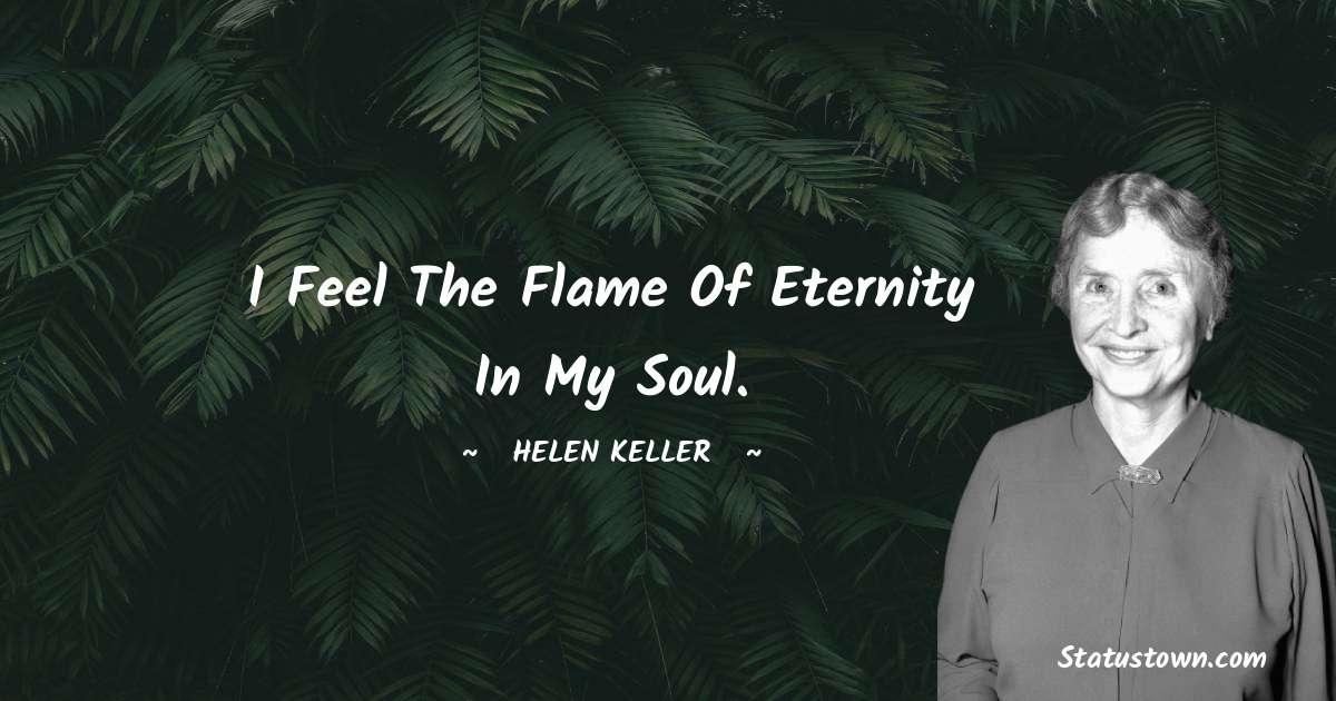 Helen Keller Motivational Quotes