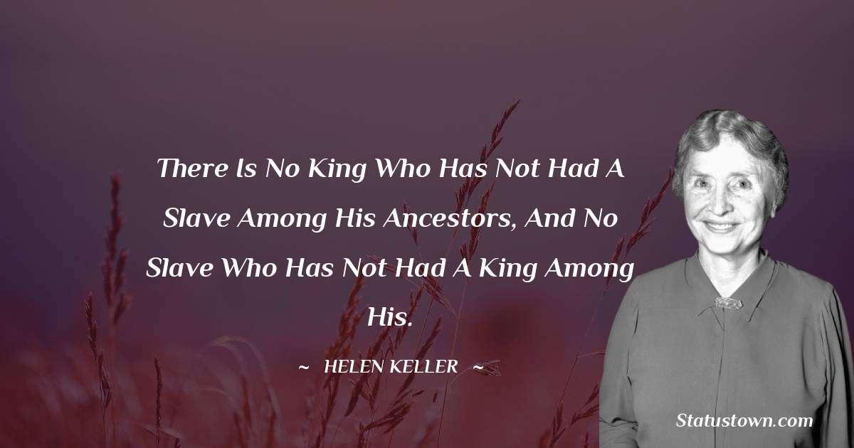 Helen Keller Inspirational Quotes