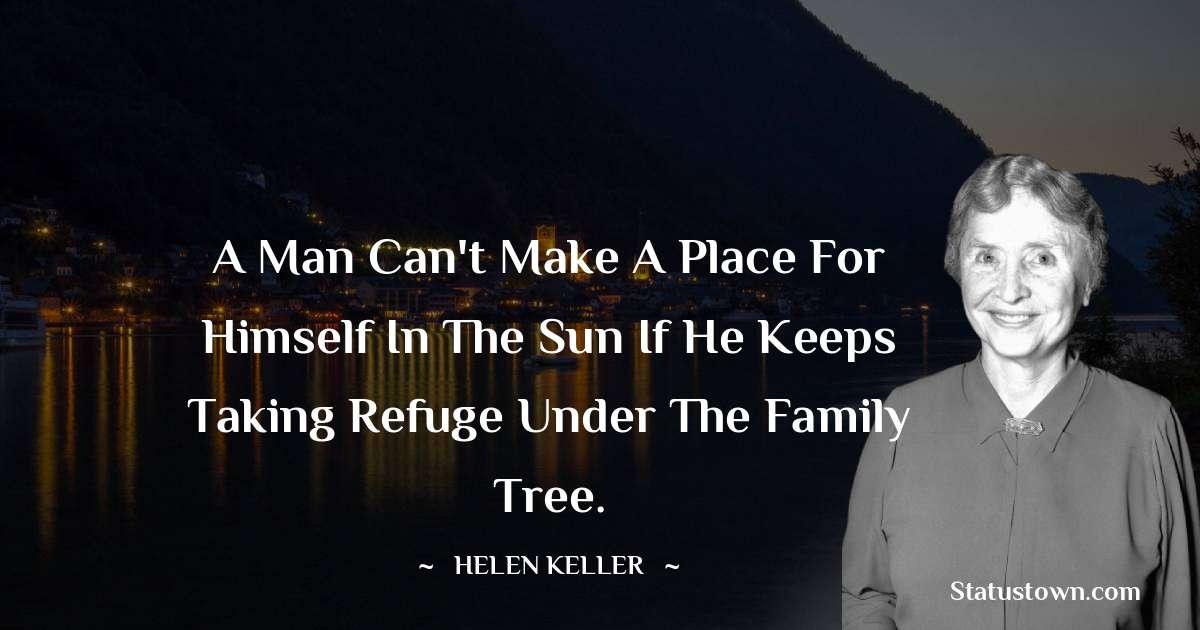 Helen Keller Positive Quotes
