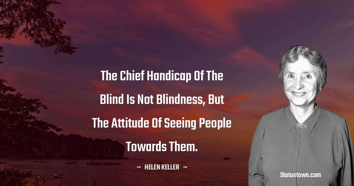 Helen Keller Unique Quotes