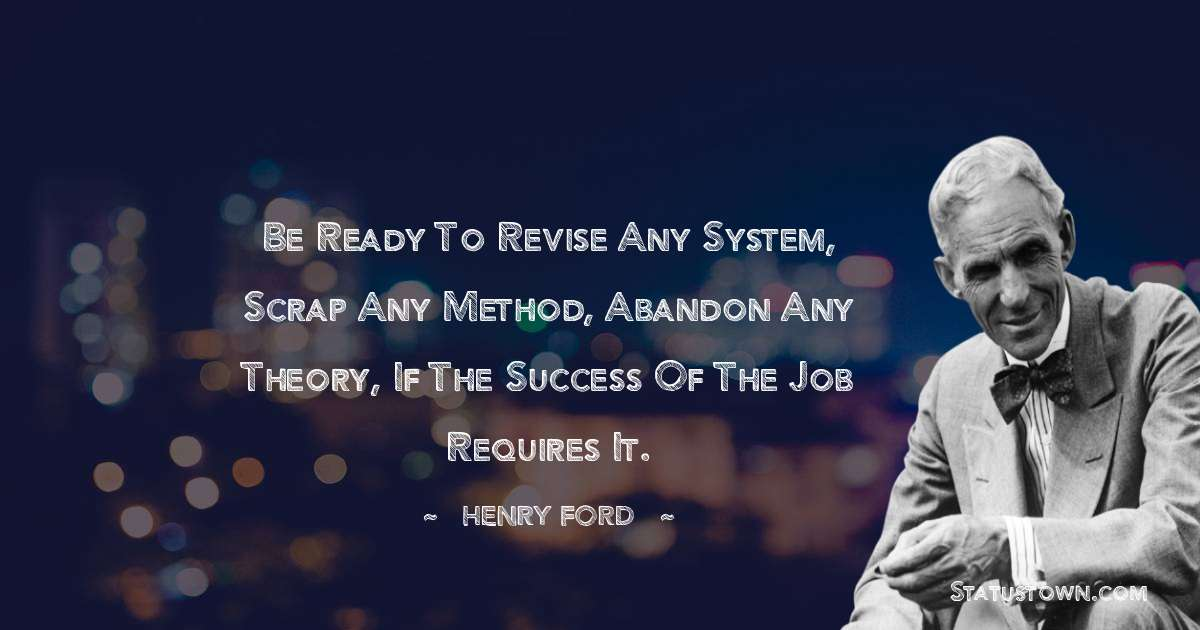 Henry Ford  Positive Thoughts