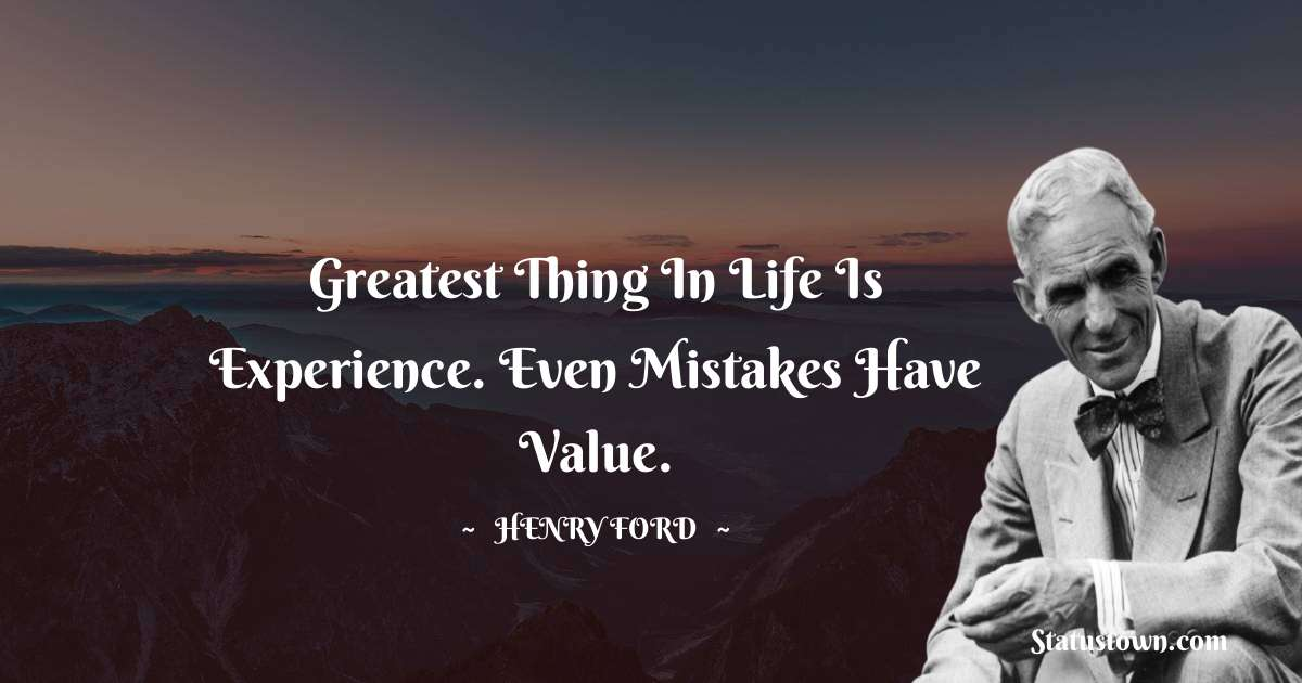 Henry Ford  Motivational Quotes
