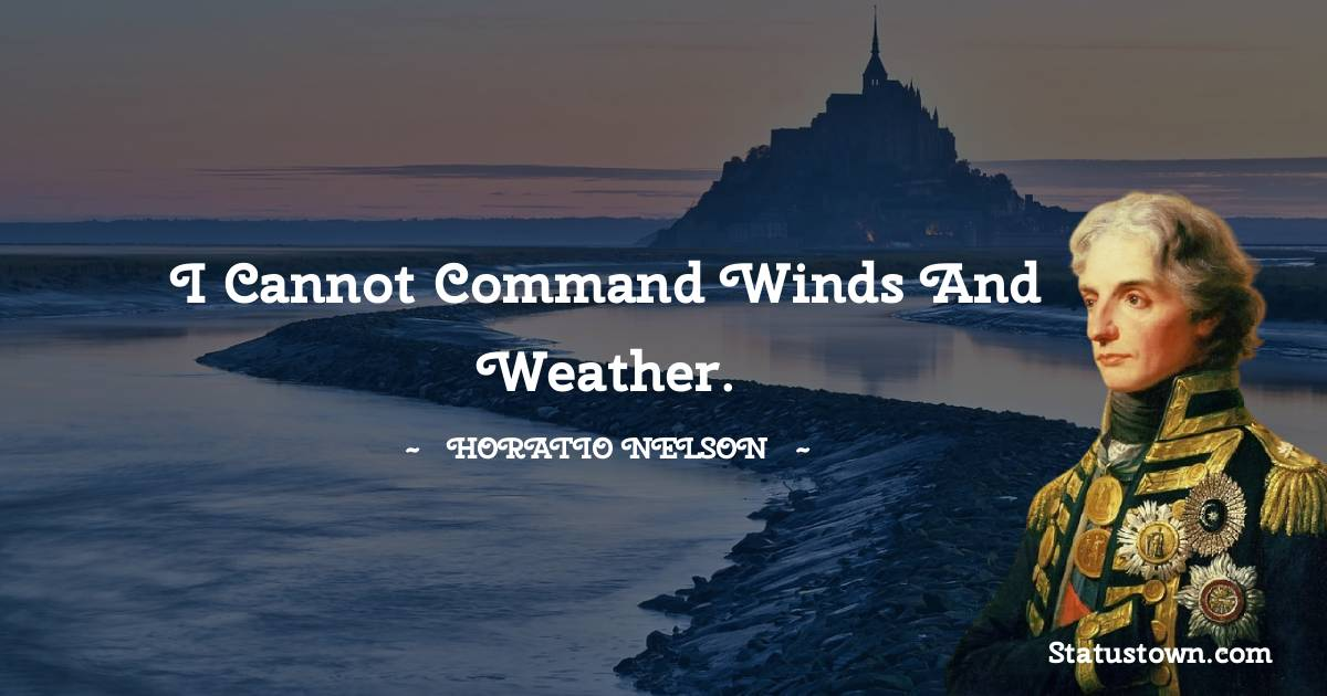 Horatio Nelson Quotes images
