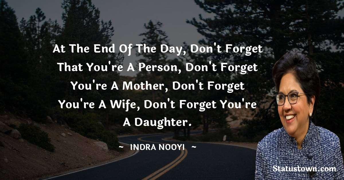 Indra Nooyi motivational quotes