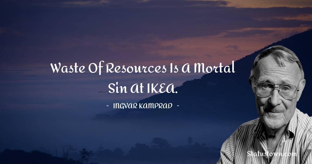 Ingvar Kamprad Positive Thoughts