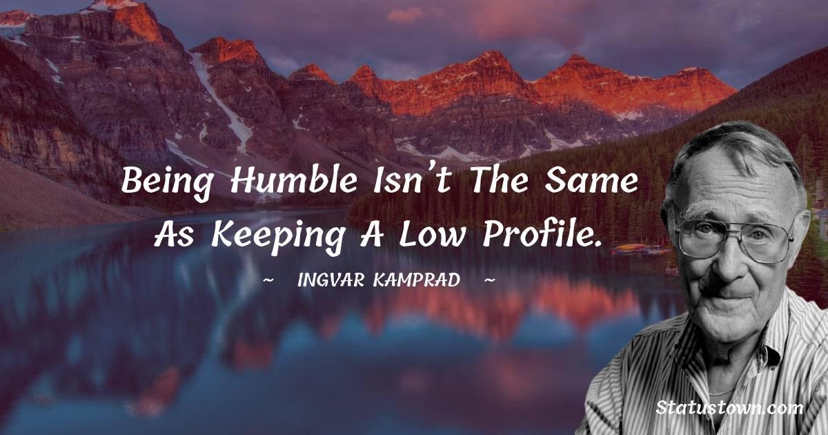 Ingvar Kamprad Short Quotes