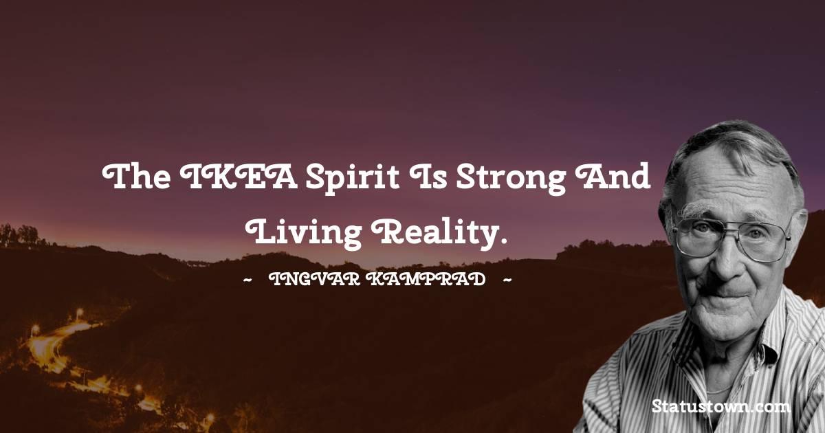 Ingvar Kamprad Inspirational Quotes