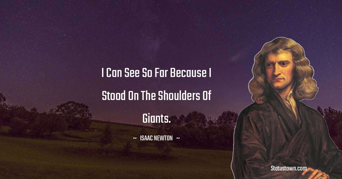 Isaac Newton Positive Thoughts
