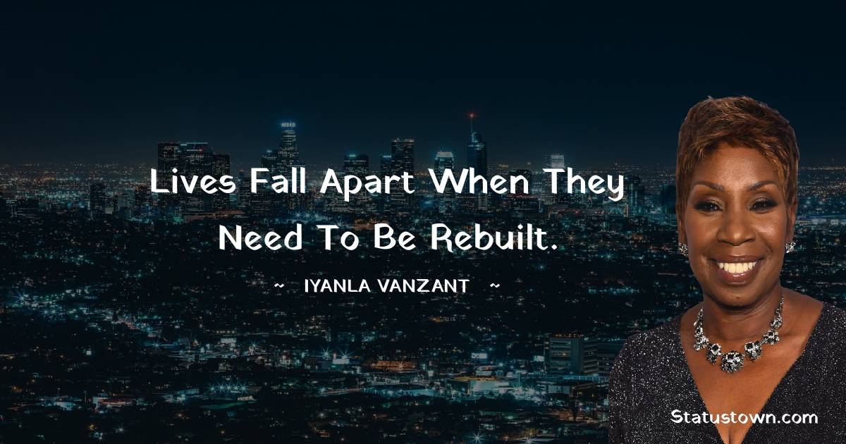 Iyanla Vanzant Positive Quotes
