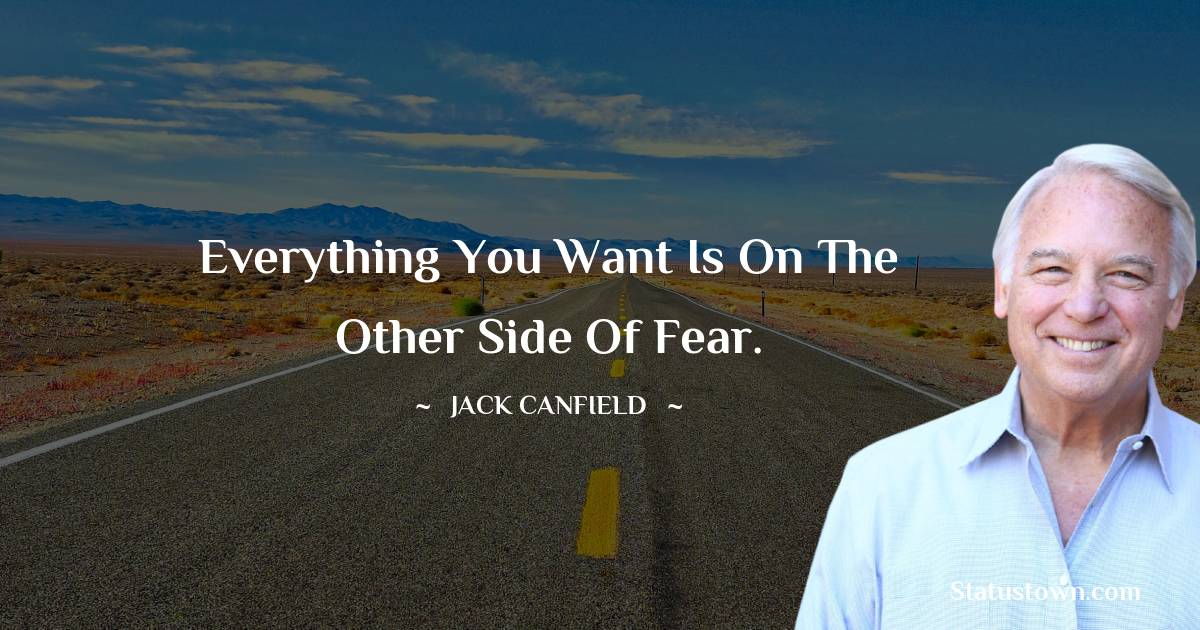 Jack Canfield Inspirational Quotes