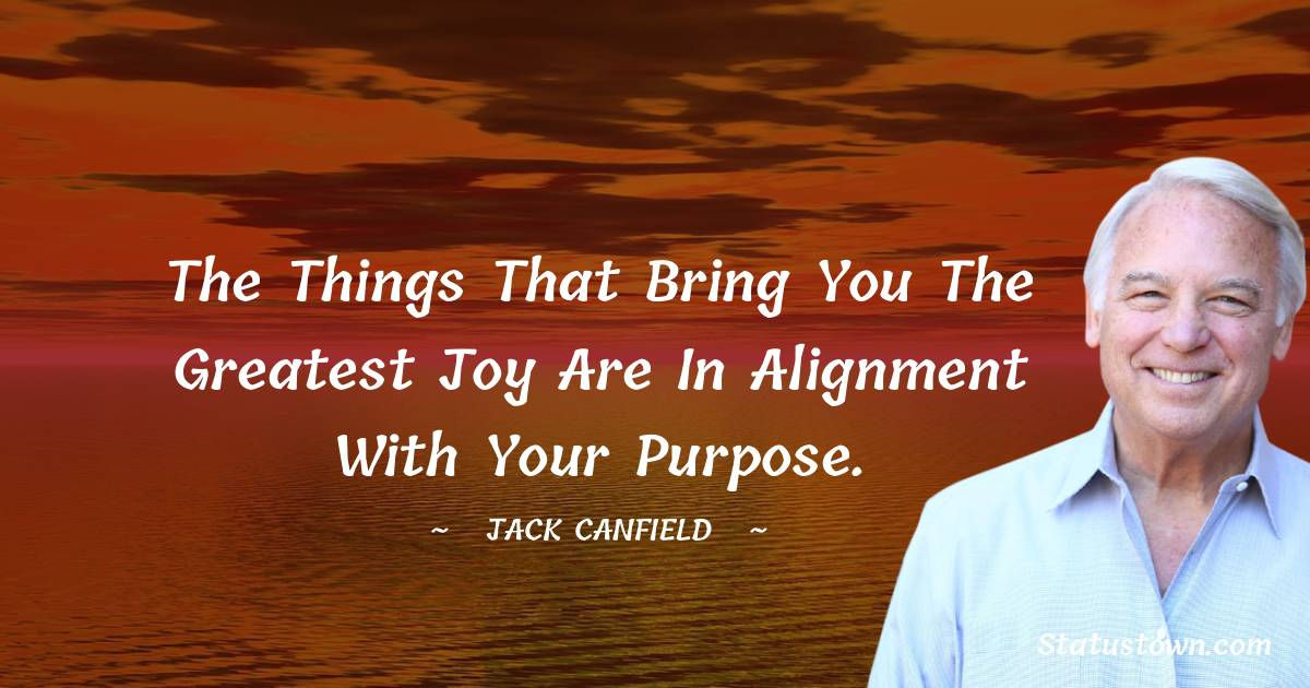 Jack Canfield Positive Quotes