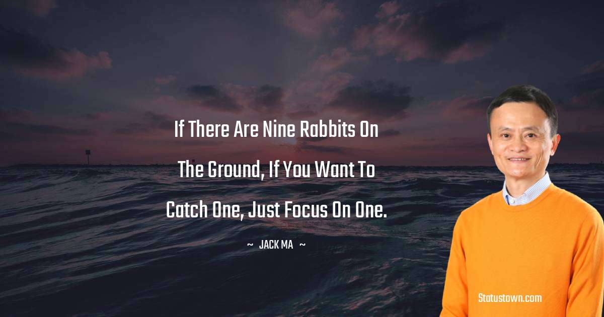 Jack Ma Positive Thoughts