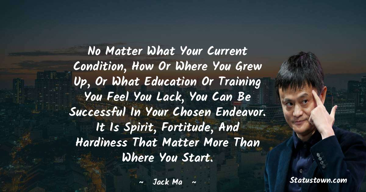 Jack Ma Thoughts