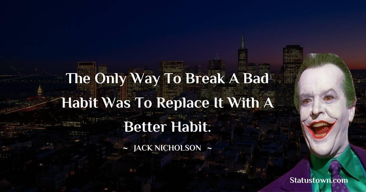 Jack Nicholson Status