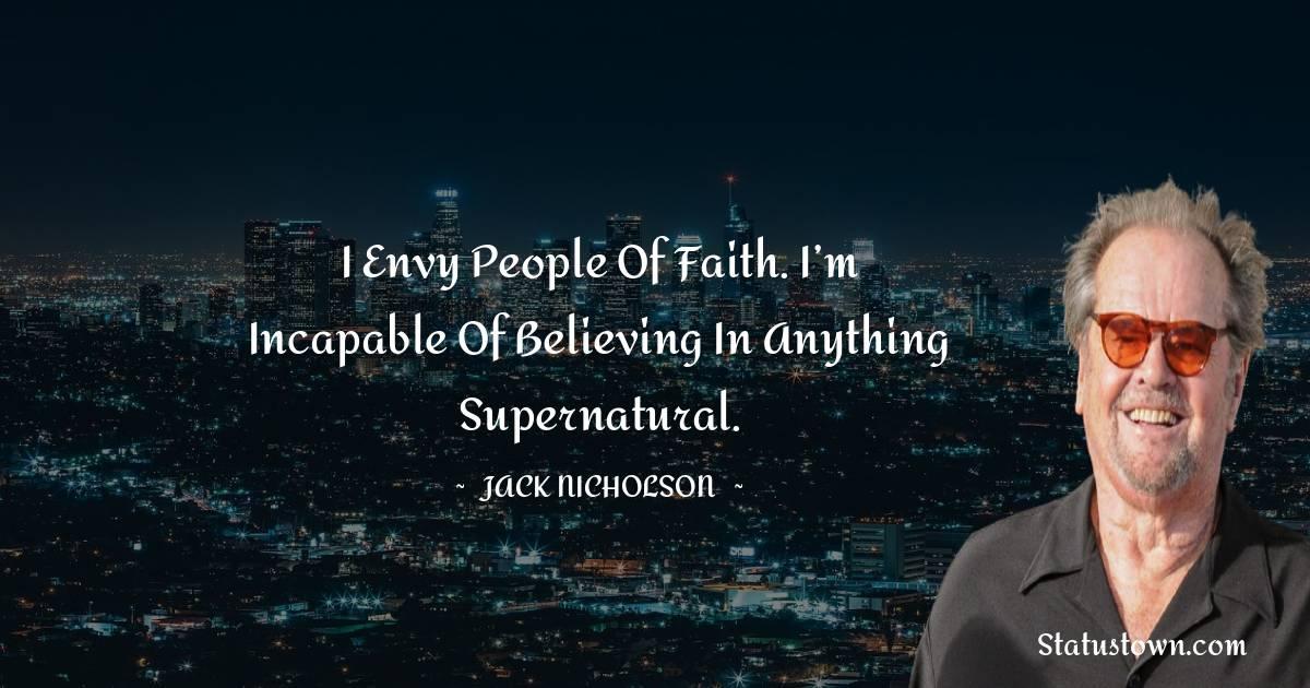 Jack Nicholson Short Quotes
