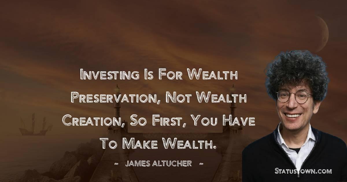 James Altucher Status