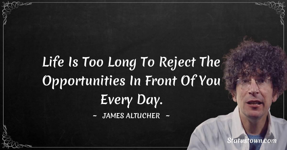 James Altucher Unique Quotes