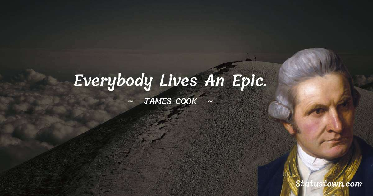 james Cook Quotes images